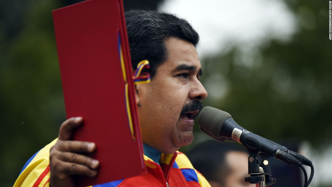 Venezuelan President Nicolas Maduro begins another six-year term as his country is in crisis