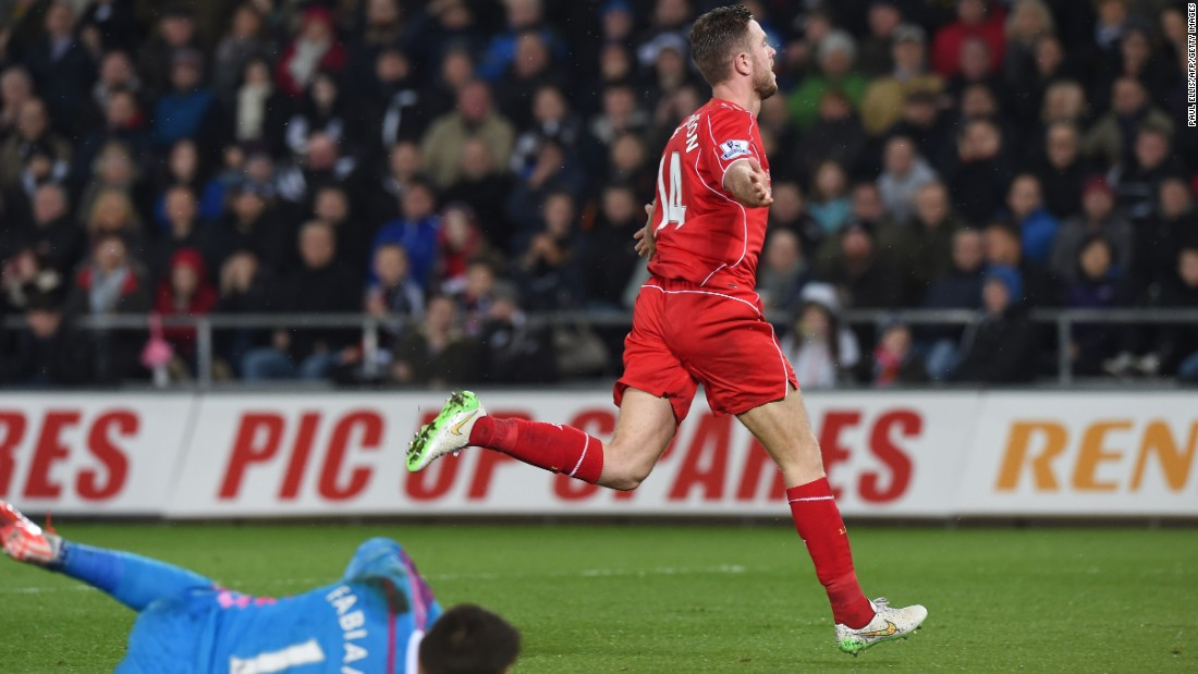<strong>Captain comeback: </strong>Reds' captain Jordan Henderson is recently back after suffering a knee injury.