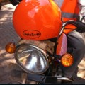 safeboda 2 - helmet on bike