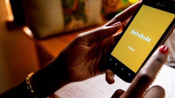 Safeboda includes a new app enabling locals in Kampala to hail boda boda motorbike taxis at the click of a button.