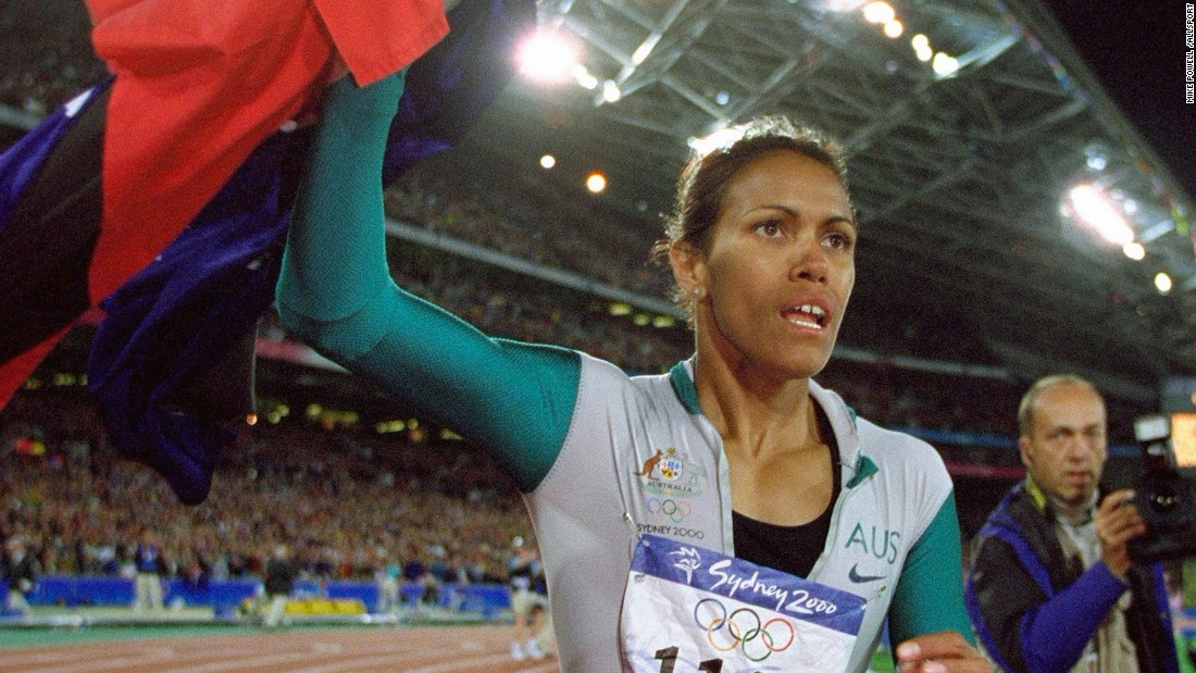As a teenager Pearson was inspired by Cathy Freeman's 400m golden run in the 2000 Sydney Olympics ...
