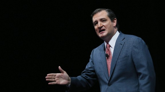 Cruz speaks during the 2013 NRA Annual Meeting and Exhibits at the George R. Brown Convention Center on May 3, 2013, in Houston, Texas.