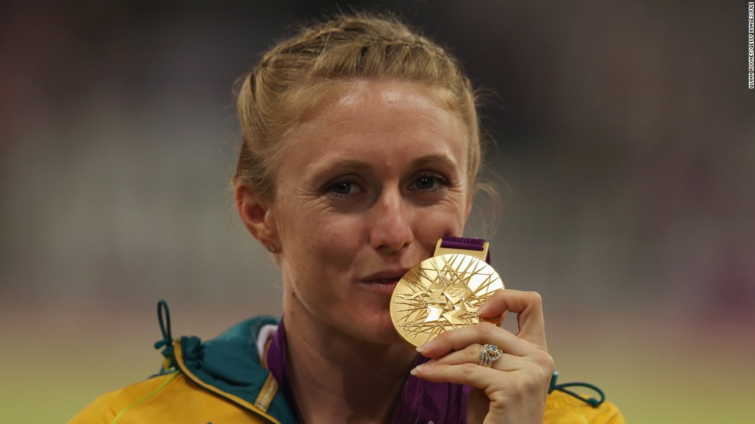 ... A lot of hard work later Pearson had her very own gold medal.