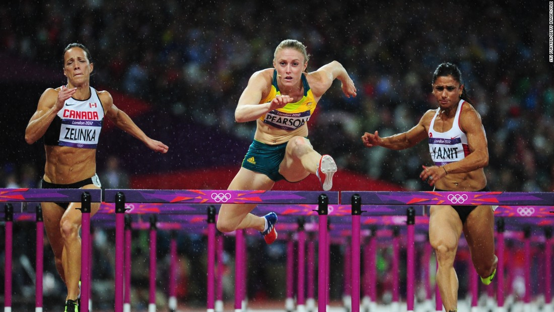 Choosing to specialize in the 100m hurdles, Pearson came into the 2012 London Olympics having won 32 races from 34 starts.