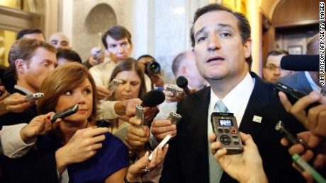 U.S. Sen. Ted Cruz of Texas announces his candidacy for the GOP presidential nomination