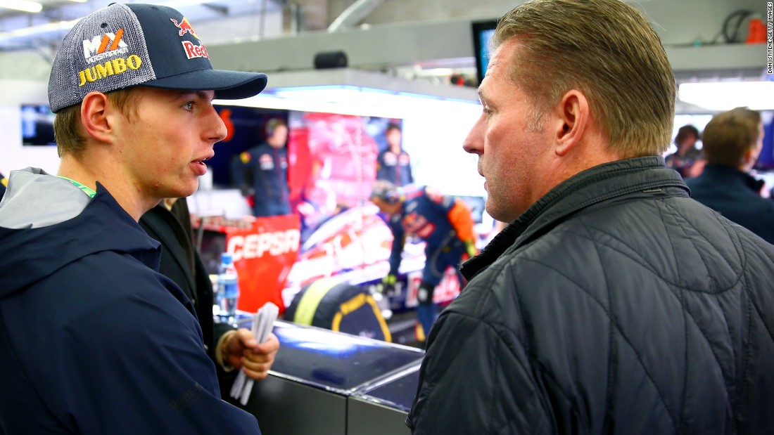 "What's the secret of Verstappen's rapid rise to F1? ""Because my Dad prepared me so well from a young age,"" he says."