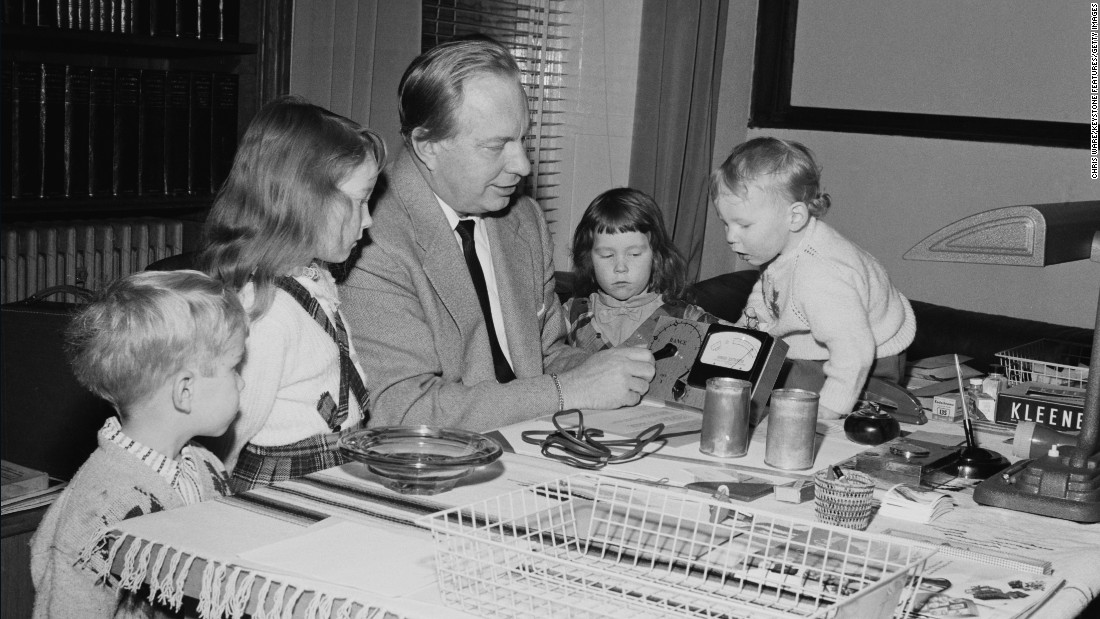 "Hubbard and his children in December 1959. They are testing a device called an E-meter, which Scientologists say measures the body's electric flow as an auditor asks a series of questions that they say reveals sources of trauma. <a href=""http://religion.blogs.cnn.com/2012/07/03/tom-cruise-divorce-raises-question-what-is-scientology-anyway/"" target=""_blank"">At the core of Scientology</a> is a belief that each human has a reactive mind that responds to life's traumas, clouding the analytic mind and keeping us from experiencing reality."