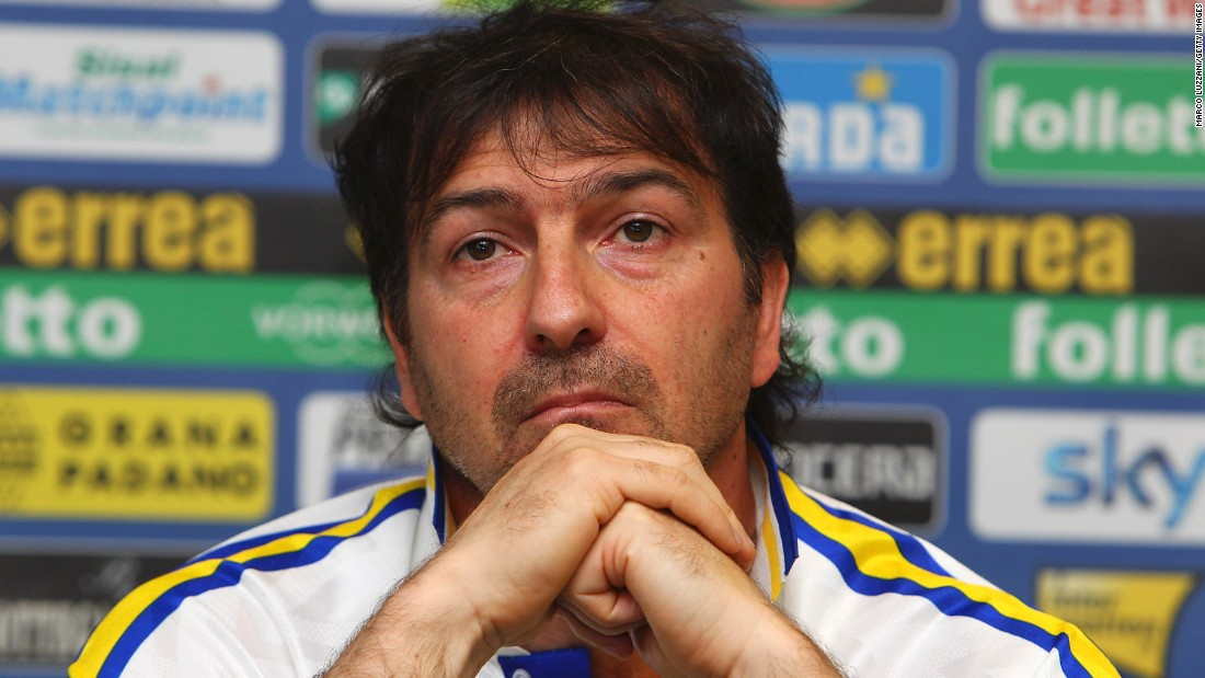 Parma manager and legend Alessandro Melli has called the club zombie-like given its current financial uncertainty.