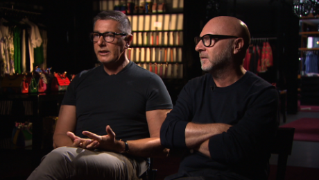 28fe6638bb0c Exclusive  Dolce   Gabbana on IVF outrage - CNN Video