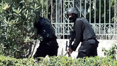 Photos: Gunmen attack Tunisian museum