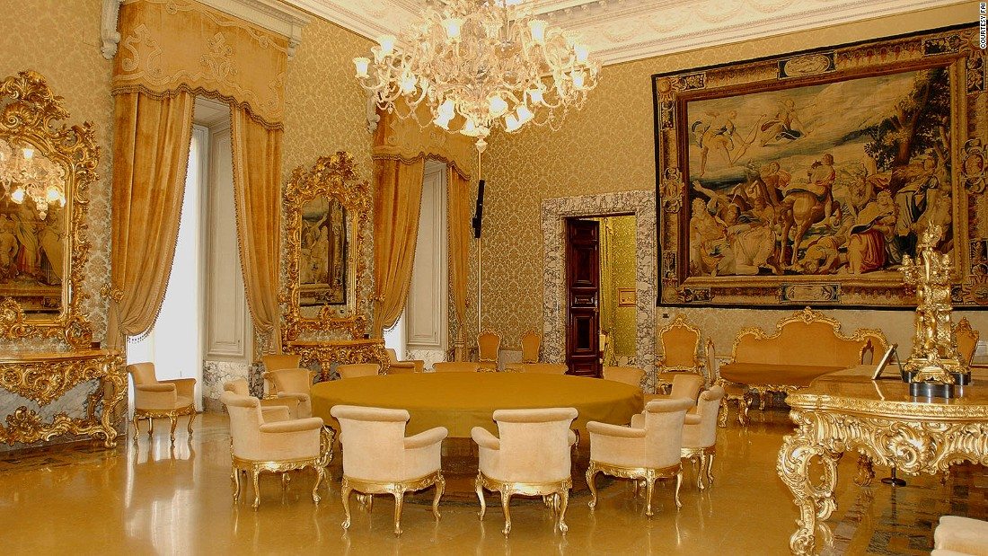 With gold fixtures and deluxe suites with private terraces, this may feel like a Versailles-style palace, but no royalty lives here. This is the headquarters of Italy's Central Bank. <br />Before moving to Frankfurt as chief of the European Central Bank, Mario Draghi spent most of his days here. <em><br />Via Nazionale 90-91, Rome</em><br />