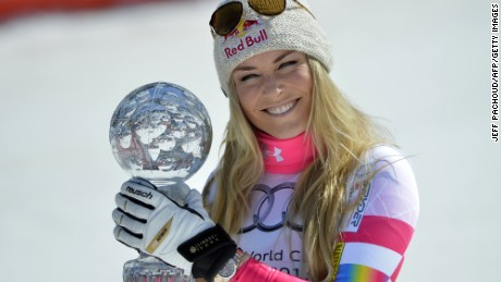 Lindsey Vonn has been in record-breaking form during her season comeback