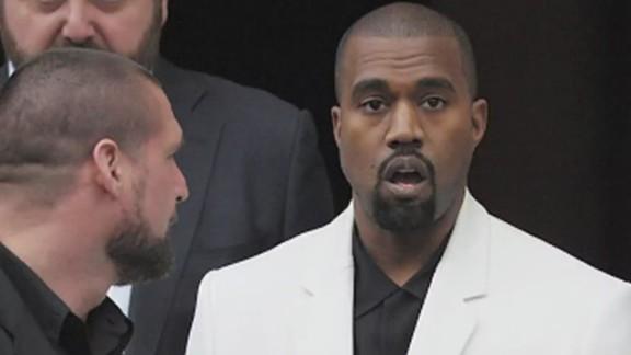 Kanye West shock