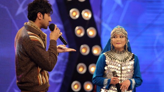 """In the popular television show """"Afghan Star"""" -- the Afghanistan version of """"American Idol"""" -- men and women can appear on stage together."""