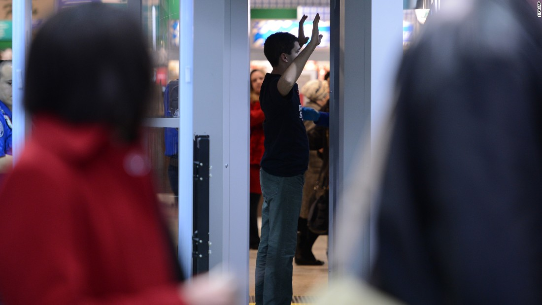 A passenger goes through security at LaGuardia Airport in New York. TSA officers' perception of people's behaviors is inherently subjective, Handeyside says. The fact that many people find airport settings inherently stressful only compounds the problem.