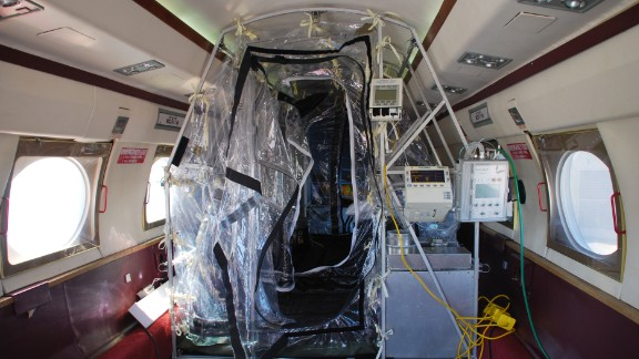 Phoenix Air worked with the Department of Defense and the Centers for Disease Control and Prevention to build a system that could safety transport patients with contagious diseases.