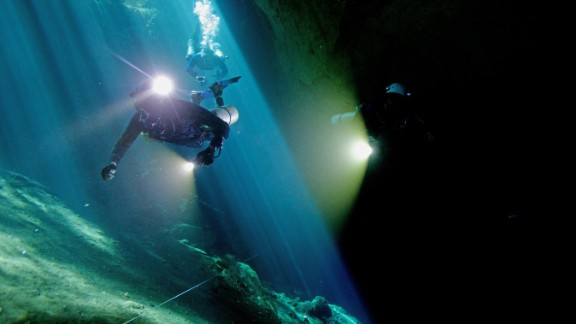 An international team explored flooded caves in Madagascar, and uncovered the largest cache of fossils in the country to date.