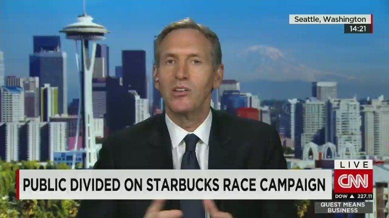 Starbucks CEO on #RaceTogether: Use our scale for good