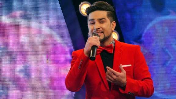 """Ali Saqi, one of the finalists in this year's """"Afghan Star."""""""