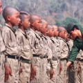 13 child soldiers restricted