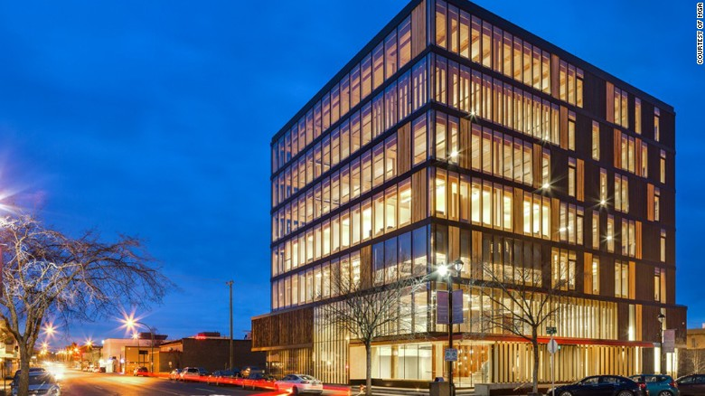 Exceptional Vancouver Based Architects MGA Recently Completed The A 29.5m (97 Feet)  Wooden