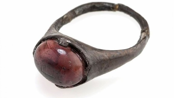 """The researchers concluded the ring had """"never much been used."""""""