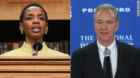 Reps. Donna Edwards and Chris Van Hollen are poised for a Senate Democratic primary battle in Maryland.