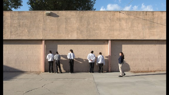The Los Padrinos Juvenile Hall in Downey, California