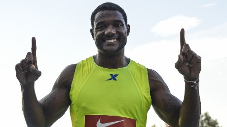 American Justin Gatlin is currently Infostrada's pick to beat Bolt over 100m.