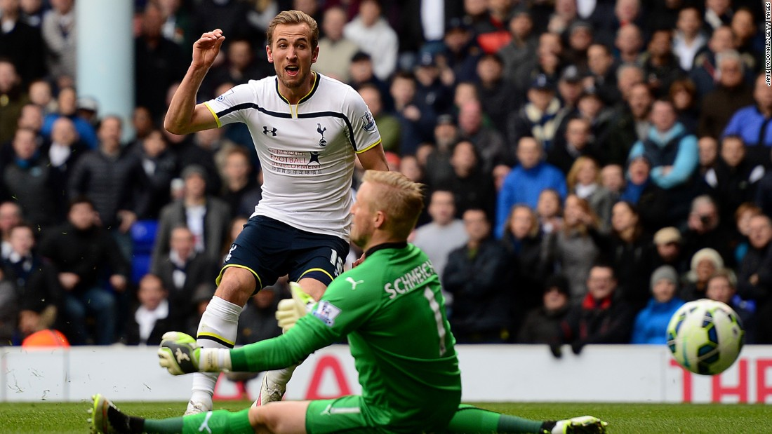 Another North London striker on a hot streak is Harry Kane. The Spurs starlet fired a hat-trick in his side's 4-3 victory at home to Leicester City.