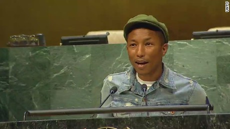 Pharrell: 'Happiness is your birthright'