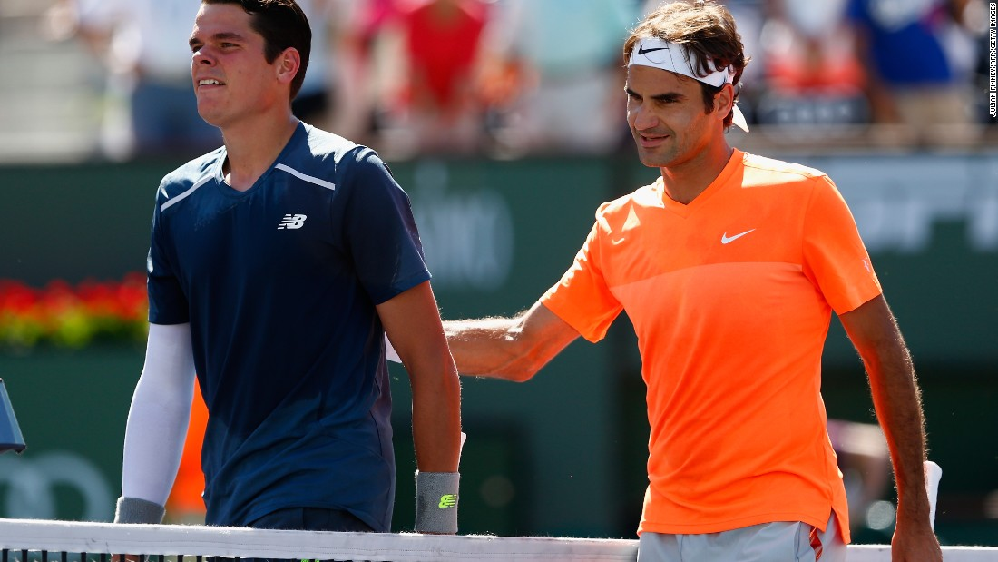 Federer will be looking for his second win against World No.1 Djokovic in the space of a month after defeating him in the final of the Dubai Tennis Championships in February.