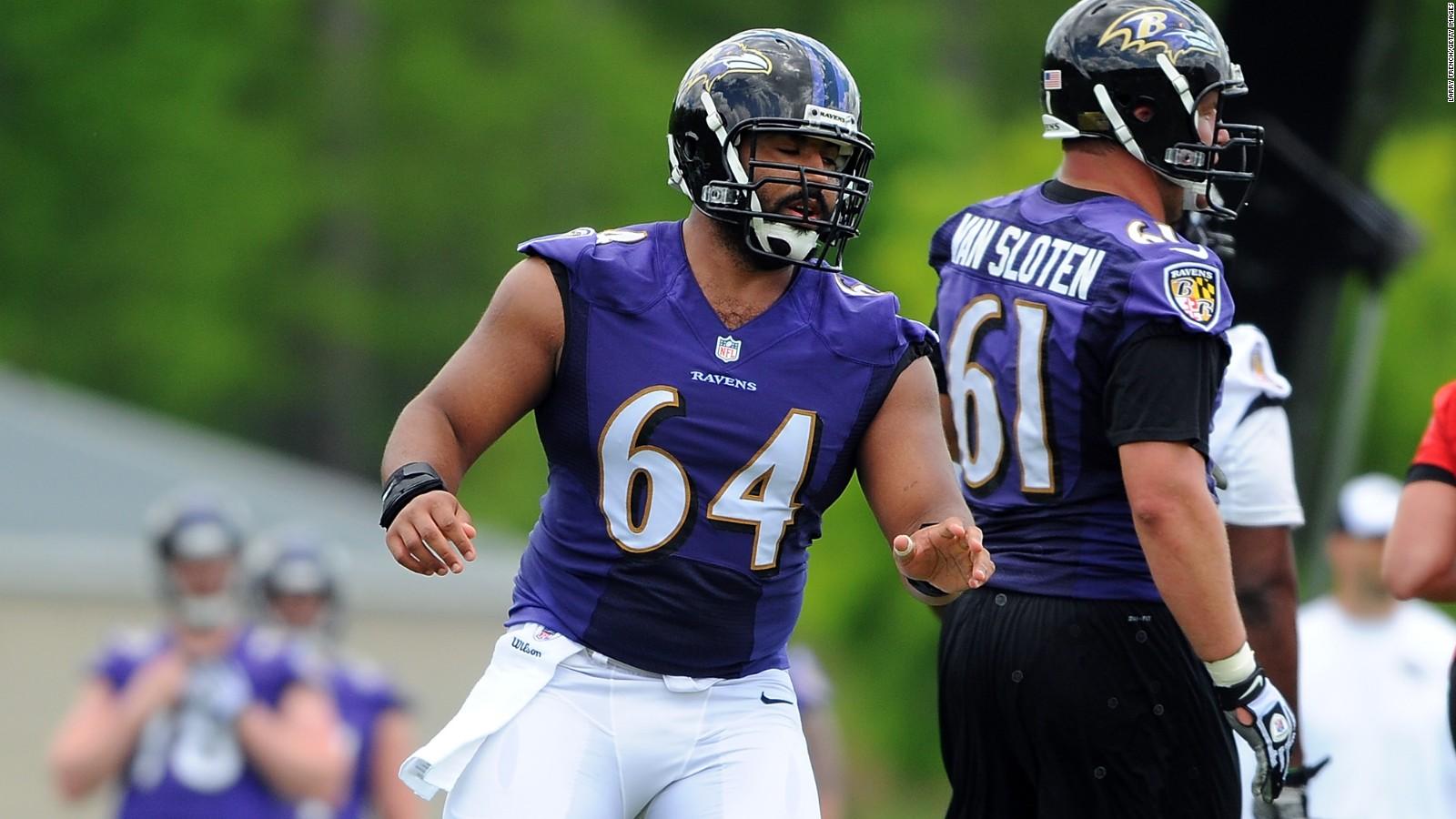 Baltimore Ravens' guard John Urschel is a math whiz - CNN on