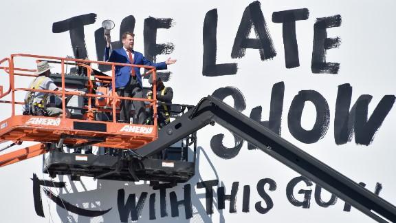 James Corden takes over for Craig Ferguson on CBS
