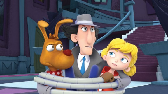 """An updated version of animated cartoon """"Inspector Gadget"""" starts streaming on Netflix on Friday."""