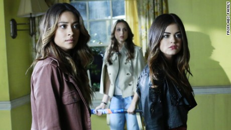 "Shows like ""Pretty Little Liars"" let Lauren Rearick escape into a reassuring world, she says."
