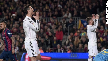 Luis Suarez strike settles El Clasico for Barcelona - CNN