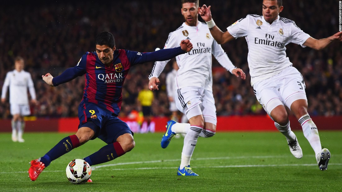 Luis Suarez continues to divide opinion with his behavior on the field of play but the forward has impressed with his goals. The $128.5 million signing scored the winner against Real Madrid in El Clasico and has been key to the team's success in the Champions League.