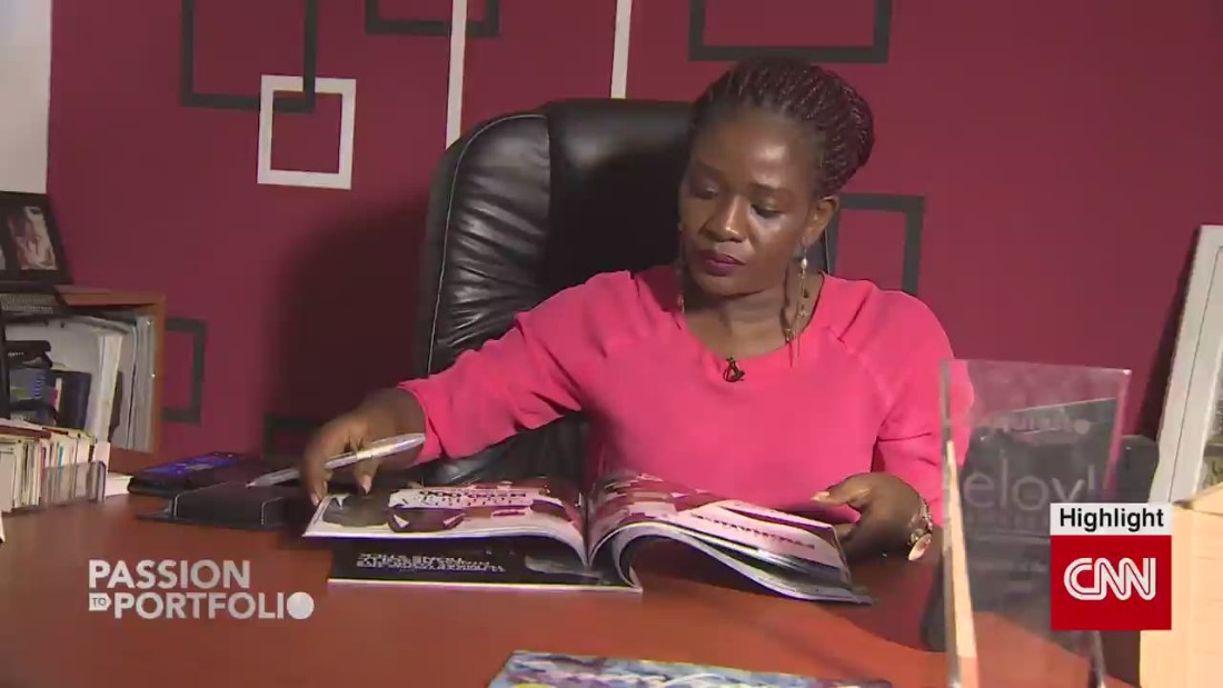 "<a href=""http://edition.cnn.com/2015/03/23/world/exquisite-magazine-tewa-olasanya/index.html"">Tewa Onasanya</a> was a pharmacologist before she decided to pursue her passion and  create a lifestyle magazine in Nigeria."
