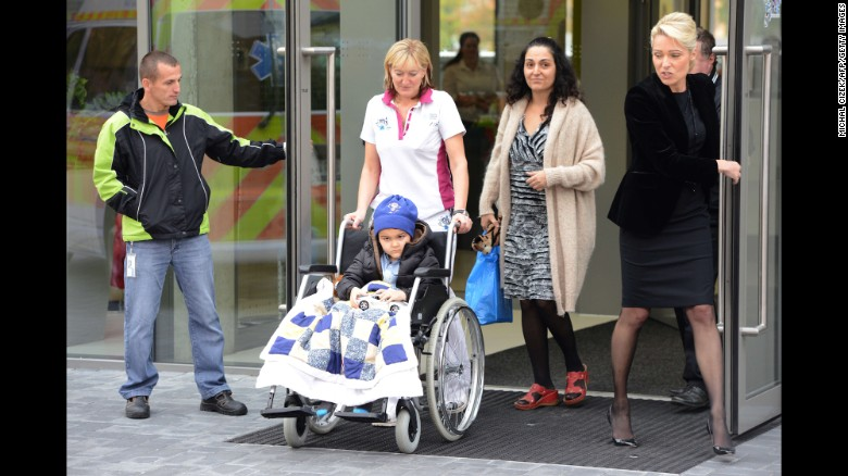 Family says Ashya King's cancer is gone