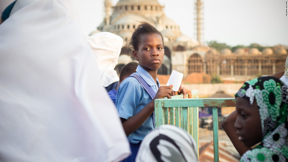 Agyare says that many children in the largely Muslim area grow up without ever leaving the community. Achievers Ghana and Tech Needs Girls is helping to expand their horizons by taking them on trips around Accra and other areas of the country.