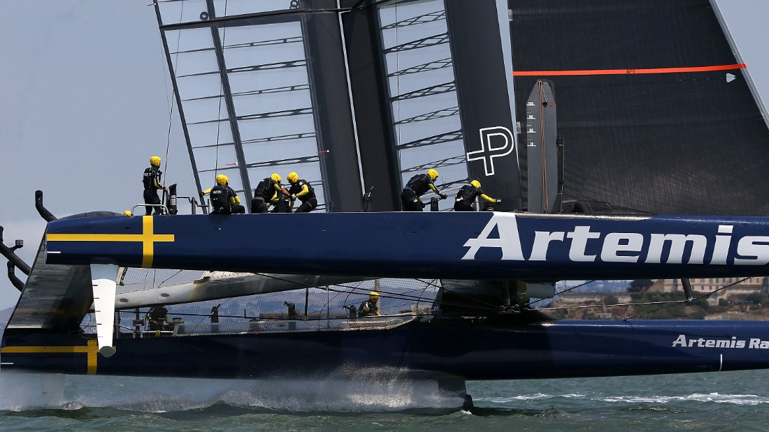 Simpson tragically died two years ago during a training exercise in San Francisco Bay for the 2013 America's Cup, as a crew member for Percy's Artemis Racing entrant.