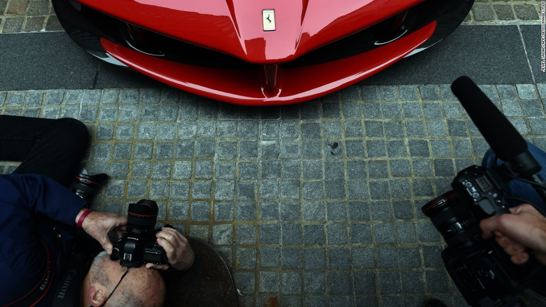 "Notable for their ""Rosso Corsa"" -- or race red -- color, Ferrari cars often attract attention."