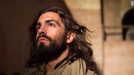 Adam Bond portrays Jesus in the CNN Original Series 'Finding Jesus'