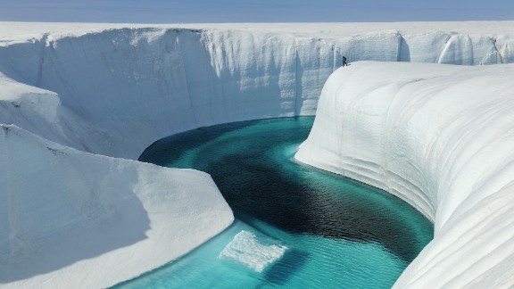 In recent decades, the Antarctic has experienced air temperature increases of 3 degrees Celsius -- five times the mean rate of global warming for the rest of the world, say experts. This has led to reduced sea ice cover.