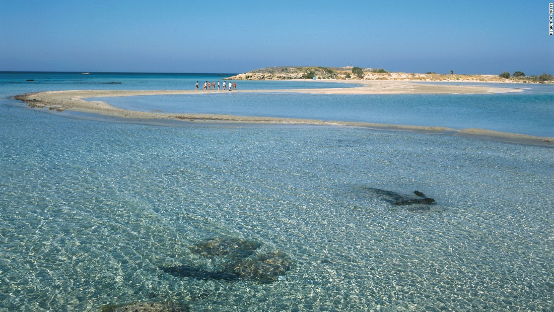 Greek airline Hellenic Seaplanes recently announced plans to connect 100 of country's islands, starting with Crete (pictured), Skyros and Pelion.