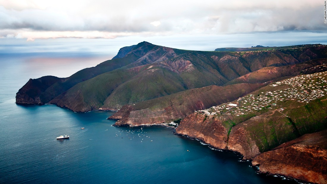 Much of remote St. Helena island's appeal lies in its inaccessibility. But in February 2016 the island's first airport will open, servicing weekly flights from Johannesburg.