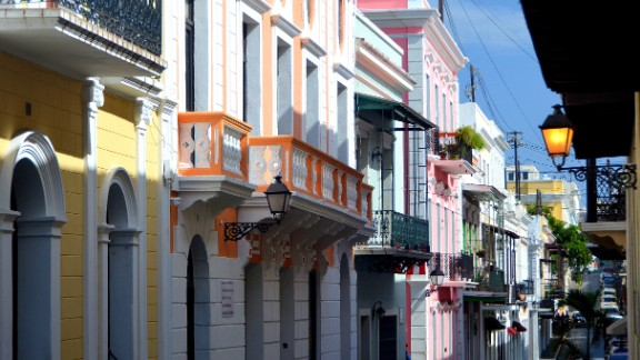 """I'm not a sunbather, so for me, an island has to offer more than just beaches,"" said iReporter Julee Khoo. ""Puerto Rico fit the bill perfectly."" Khoo recommends strolling through Old San Juan. San Juan, founded in the 1500s, is the capital and the oldest city now under U.S. jurisdiction. Puerto Rico is located in the northeastern Caribbean Sea, with its northern shore facing the Atlantic Ocean."