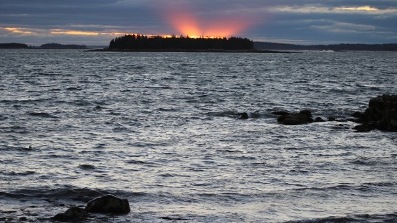 Maine's Great Wass Island is a 1,576-acre nature preserve where a 4.5-mile hiking trail weaves through forests and wetlands. iReporter Paul Richard Tamasi visited in 2014 and enjoyed the sunsets, the beautiful rocky coast and lobsters and crabs right off the fishing boats.