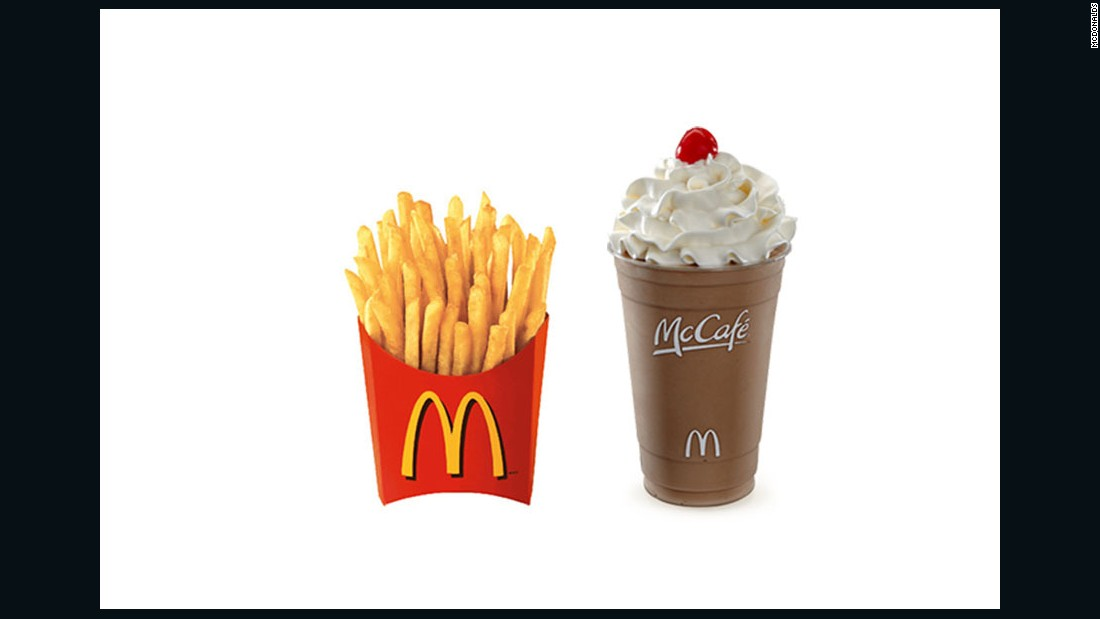 """I'd get fresh, hot fries (not wimpy cold ones) and a small chocolate shake. Why? If I'm famished, I need ""quick energy"" which I'll get from carbohydrates, but also because ... I actually enjoy fries and shakes. I wouldn't worry about nutrition right now because it's not in the cards. I'd rather get a healthy meal I could savor later, and something quick and enjoyable now.""<br /><br />-- <a href=""http://rebeccascritchfield.com/"" target=""_blank"">Rebecca Scritchfield</a>, MA, RD, HFS"